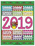 DK 2019 Calendar