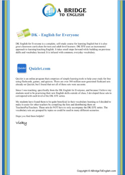 DK English for Everyone L3 for Quizlet