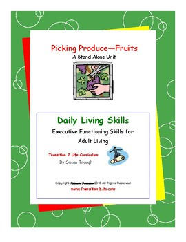 DLS Picking Produce--Fruits Daily Living Skills