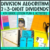 DMSB Division Algorithm for 2 Digit and 3 Digit Dividends Interactive Lesson