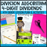 DMSB Division Algorithm for 4 Digit Dividends Interactive Lesson Plan
