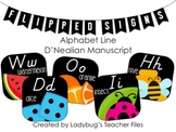 DN Manuscript Alphabet Line (Flipped Signs)