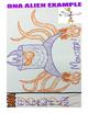 DNA Alien (Science Genetics Activity)