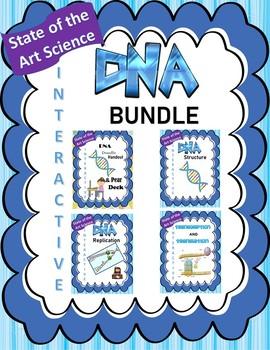 DNA Biology Unit BUNDLE (Doodle Handouts & Pear Decks)