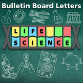 Back to Scholl: DNA Bulletin Board and Word Wall Letters For Science Classroom