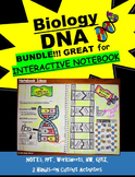 DNA (Deoxyribonucleic Acid) Notes, PowerPoint, & Activities