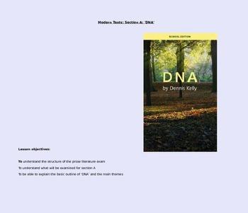 'DNA' - Dennie Kelly KS4