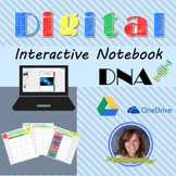 DNA Digital Interactive Notebook