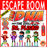 DNA Escape Room ~ Team DNA vs Dr. Plasmid ~Breakout~ Digital Locks ~BIOLOGY