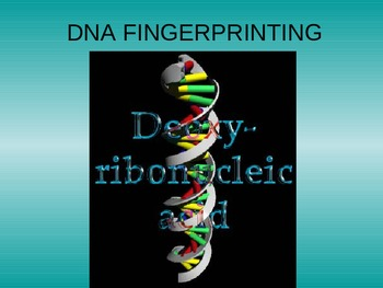 DNA Fingerprinting Presentation (PCR)
