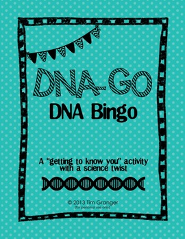 DNA-GO: A Science game - for getting to know you or kickin