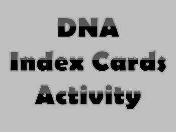 DNA Index Cards
