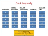 DNA Jeopardy game