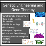DNA Manipulation and GMO's - A Senior Biology PowerPoint Lesson & Notes