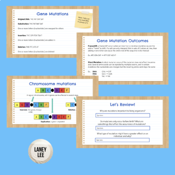 DNA Mutations & Genetic Disorders PPT