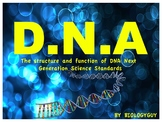 DNA, Next generation Science Standards