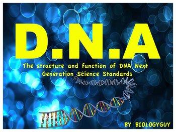 DNA, Next generation Science Standards