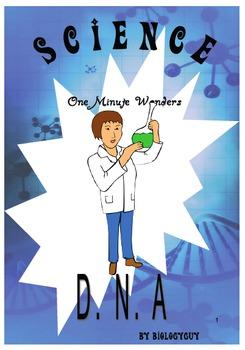 "DNA ""ONE MINUTE WONDERS"" fun activities, warm ups, mini assignments"
