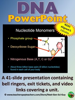 DNA PowerPoint Notes