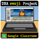 DNA Project - Building Emojis - Google Classroom | Distance Learning