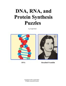 DNA, RNA, and Protein Synthesis Puzzles