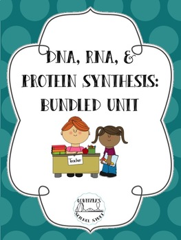 DNA, RNA, and Protein Synthesis: Unit Bundle