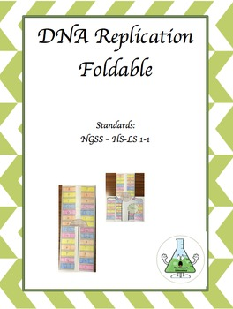 DNA Replication Foldable