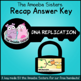 DNA Replication Recap Answer Key by The Amoeba Sisters- Am