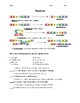 DNA Replication, Transcription, and Translation Practice Worksheet