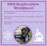DNA Replication WebQuest