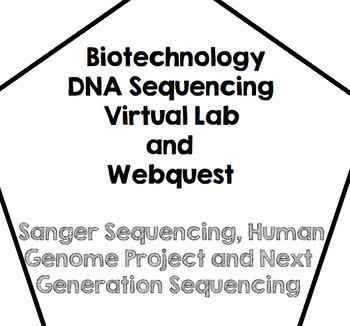Biotechnology-DNA Sequencing-Virtual Lab Webquest