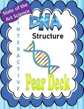 DNA Structure & Replication Pear Deck Interactive Presentation