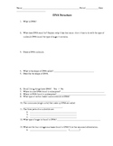 DNA Structure Worksheet