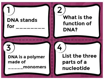 DNA Task Cards