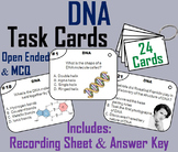 DNA Activity: Task Cards (Genetics Unit)