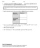 DNA - The Double Helix Game Worksheet