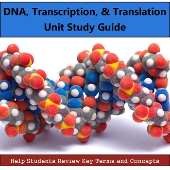 DNA Unit Study Guide