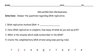 DNA and RNA add-ons