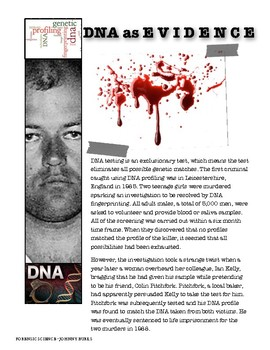 DNA as Evidence
