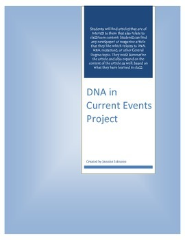 DNA in Current Events Project