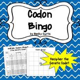 DNA & mRNA Codon Bingo