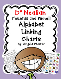 D'NEALIAN Alphabet Linking Charts Fountas and Pinnell: Color/B&W
