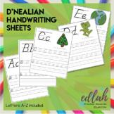 D'NEALIAN Lettering Practice A-Z - Full Color Version - Di