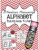 D'Nealian Alphabet Tracing Book and Chart