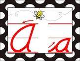 D'Nealian Cursive Alphabet Line