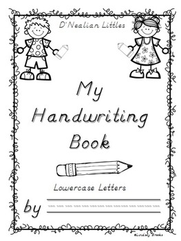 D'Nealian Handwriting BUNDLE (Lowercase AND Uppercase - Two full practice Books)