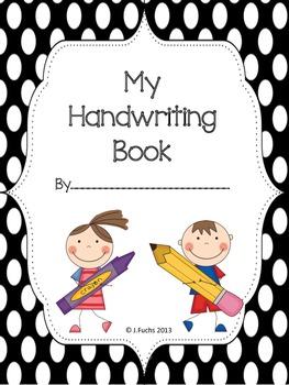 D'Nealian Handwriting Book