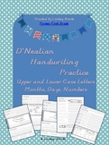 D'Nealian Handwriting Practice Pack {Uppercase and Lowercase Letters Together}
