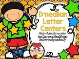 D'Nealian Letter Centers