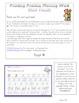 D'Nealian Printing Practice {Short Vowels}